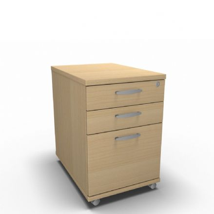 Simply Mobile Under Desk - 3 Drawer Pedestal